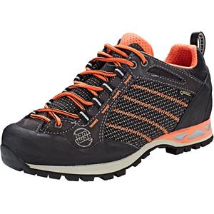 Hanwag Makra Low GTX Schuhe Damen asphalt/orink asphalt/orink