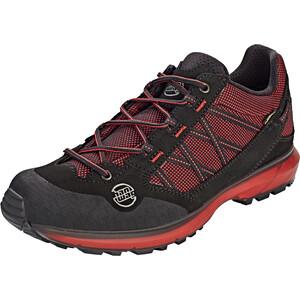 Hanwag Belorado II Tubetec GTX Zapatillas Hombre, negro/rojo negro/rojo
