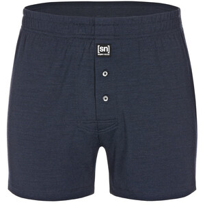 super.natural Base Wide Boxer Short 175 Herren navy blazer navy blazer