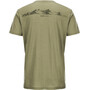 super.natural Graphic T-Shirt Herren bamboo/killer khaki expl print