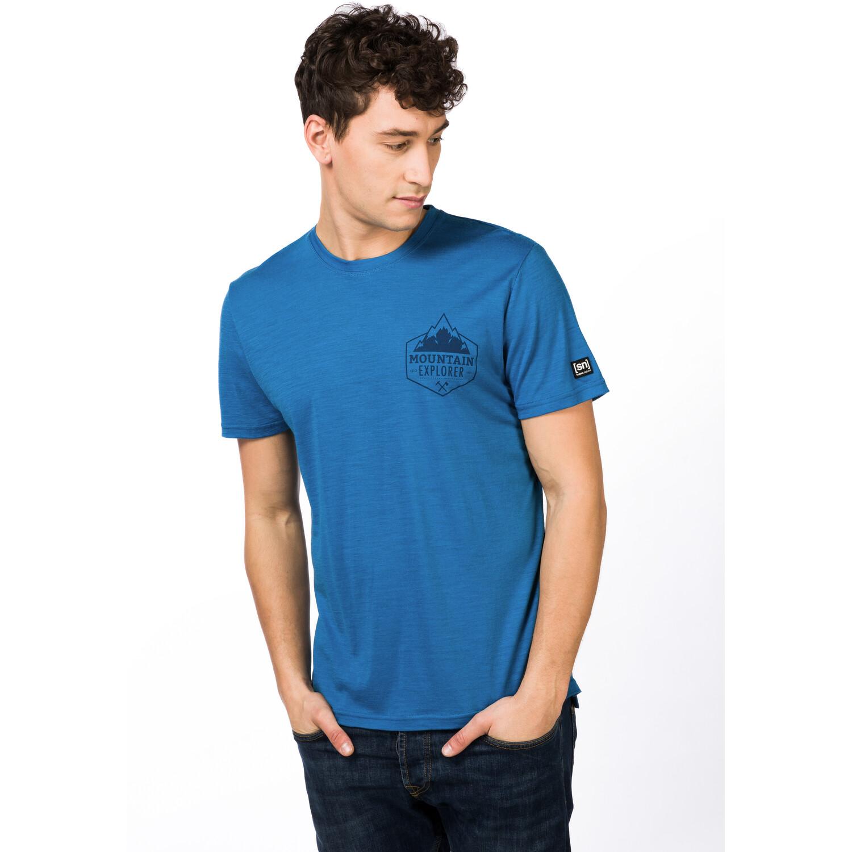 super.natural Graphic T-Shirt Herren vallarta blue/navy blazer expl print