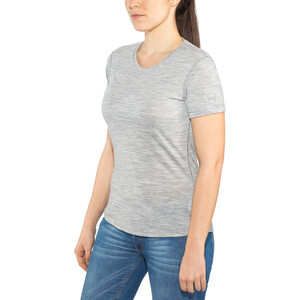 super.natural Base Tee 140 Damen ash melange ash melange