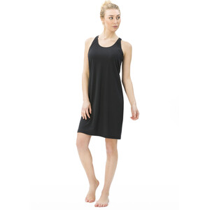super.natural Essential Racer Kleid Damen jet black jet black