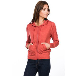 super.natural Cover Up Hoodie Damen tandoori melange tandoori melange