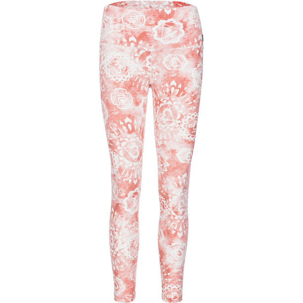 super.natural Super Printed Tights Damen fresh white/georgia chakra print