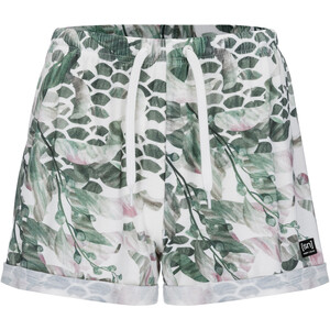 super.natural Wide Shorts Printed Damen fresh white/bamboo tropikel print fresh white/bamboo tropikel print
