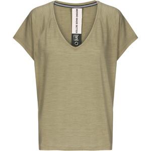 super.natural Jonser T-paita Naiset, oliivi oliivi