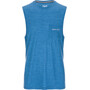 super.natural Movement Tanktop Herr vallarta blue melange