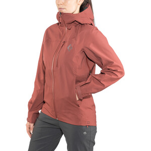 Black Diamond Sharp End Shell Jacke Damen maroon maroon