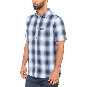 Jack Wolfskin Hot Chili Shirt Herren night blue checks night blue checks
