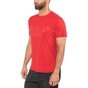 Jack Wolfskin Sierra T-Shirt Herren ruby red ruby red
