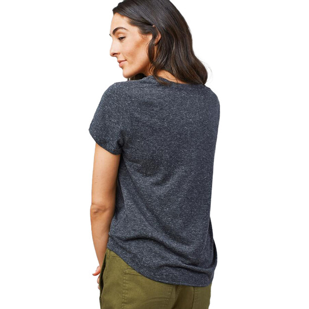United By Blue Standard Kurzarm Standard Pocket T-Shirt Damen black