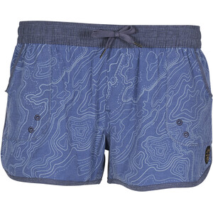 United By Blue Topography Boardshorts Damen blue blue