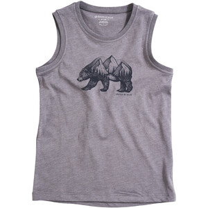 United By Blue Places You'll Go Tank Jungen steel grey steel grey