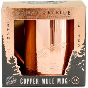 United By Blue Waterfall Copper/Enamel Lined Becher light blue light blue