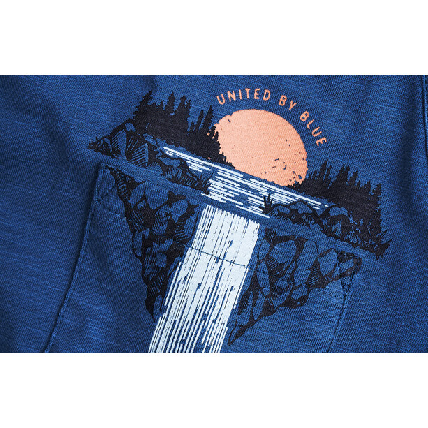 United By Blue Cascades Pocket Tank Dam orion blue