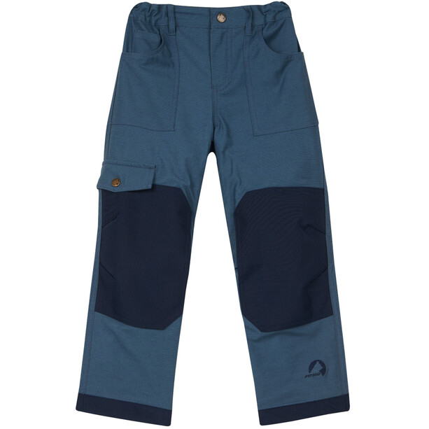 Finkid Kallio Pants Barn blue mirage/navy