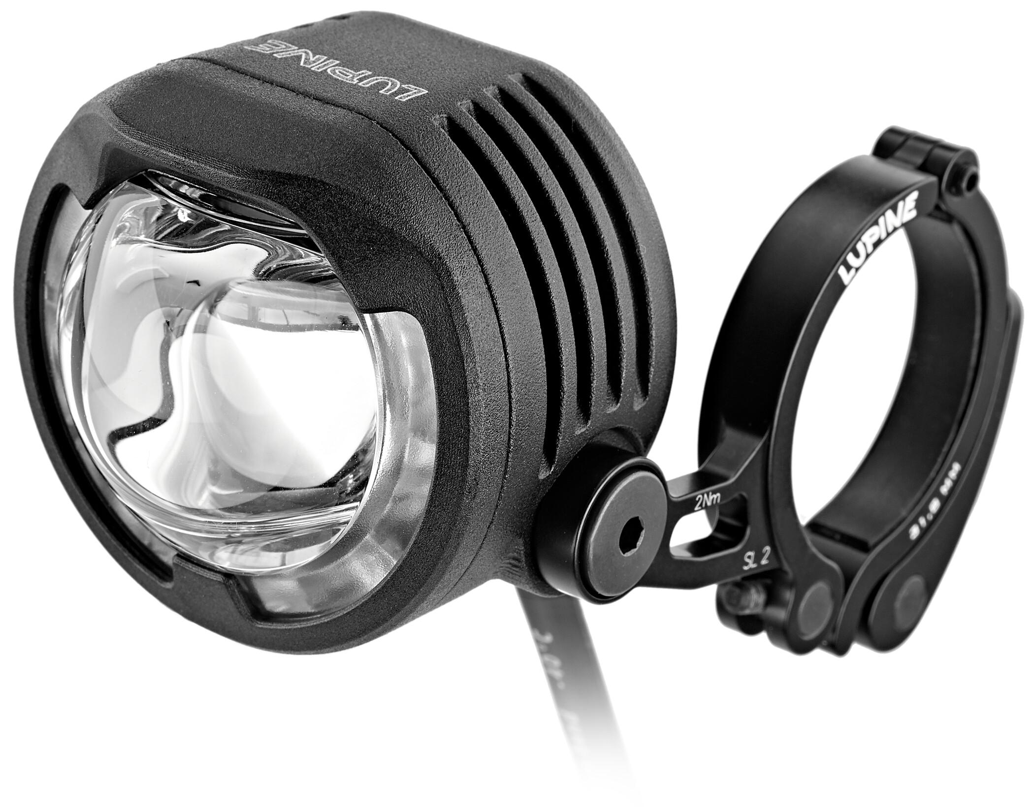 KNOG BOOMER /'12 Red 1 White LED Bike Headlight 25 Lumen 4 Mode 600m NEW