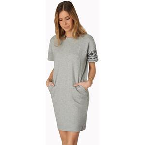 Varg Haväng Kleid Damen grey grey