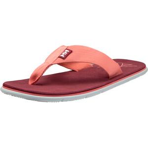 Helly Hansen Seasand HP Flips Damen shell pink/plum/cloudy white/off white shell pink/plum/cloudy white/off white