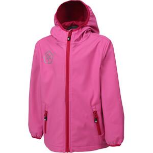 Color Kids Barkin Softshell Jacke Mädchen pink heaven pink heaven
