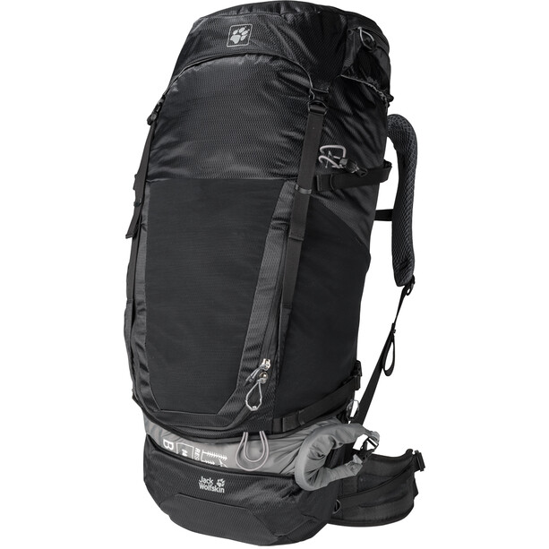 Jack Wolfskin Kalari King 56 Sac, black