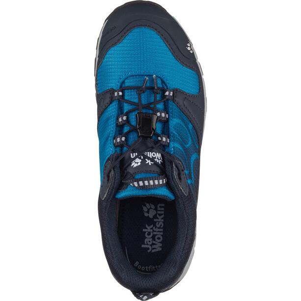 Jack Wolfskin Akka Texapore Low-Cut Schuhe Jungen night blue