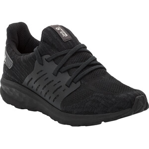 Jack Wolfskin Coogee Knit Low-Cut Schuhe Herren black black