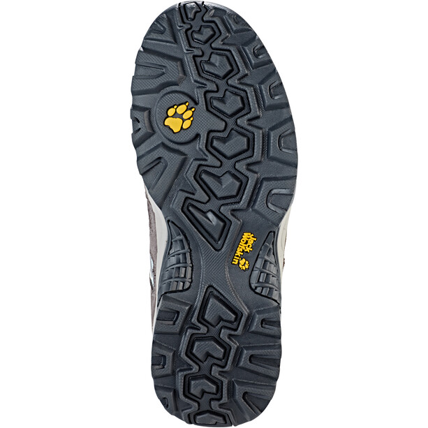 Jack Wolfskin Vojo Hike 2 Texapore Low-Cut Schuhe Damen tarmac grey