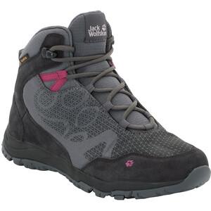 Jack Wolfskin Activate XT Texapore Mid-Cut Schuhe Damen dark iron dark iron