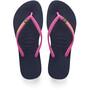 havaianas Slim Brasil Logo sandaalit Naiset, navy blue