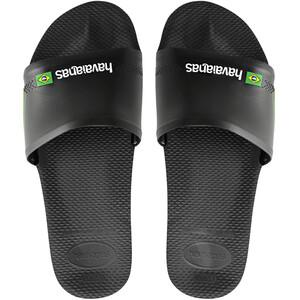 havaianas Brasil Slides black black