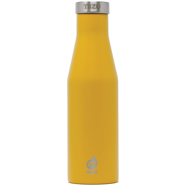 MIZU S4 Enduro LE Flasche 400ml with Stainless Steel Cap harvest gold