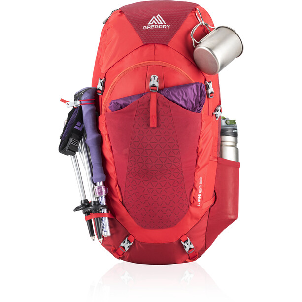 Gregory Wander 50 Rucksack Jugend fiery red