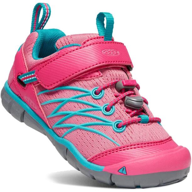 Keen Chandler CNX Schuhe Kinder bright pink/lake green