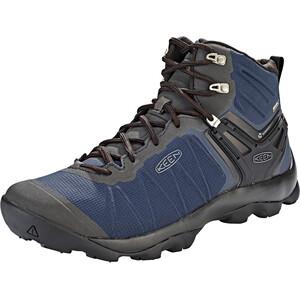 Keen Venture WP Mid-Cut Schuhe Herren blau/schwarz blau/schwarz