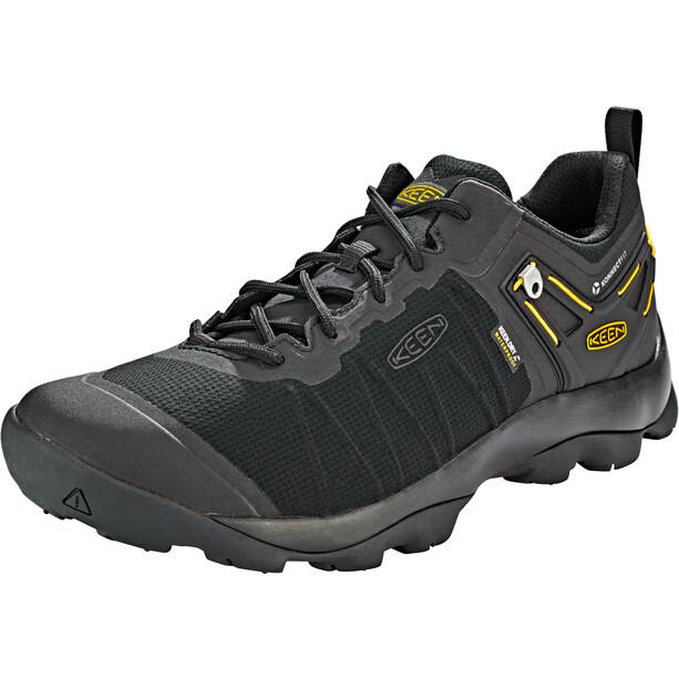 Keen Venture WP Schuhe Herren black/vibrant yellow