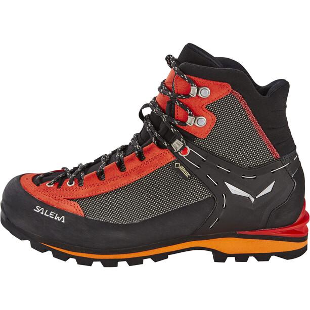 SALEWA Crow GTX Shoes Herr svart/röd