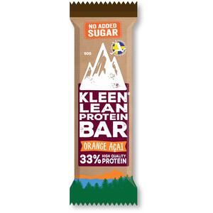 KLEEN Lean Protein Bar 50g Orange Açaí