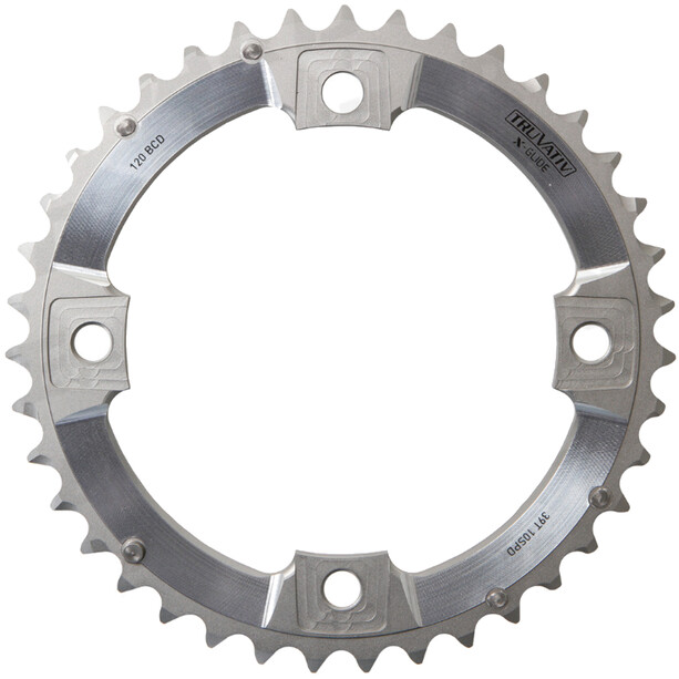 SRAM MTB XX Klinge '120 mm aluminium 10-speed BB30 S-PIN', sølv
