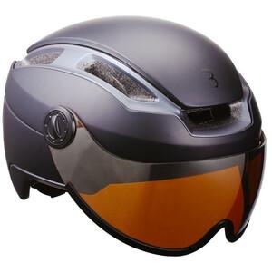 BBB Indra Speed 45 BHE-56F Helm Faceshield schwarz schwarz