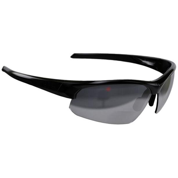 BBB Impress Reader BSG-59 Briller +2,0, sort/grå