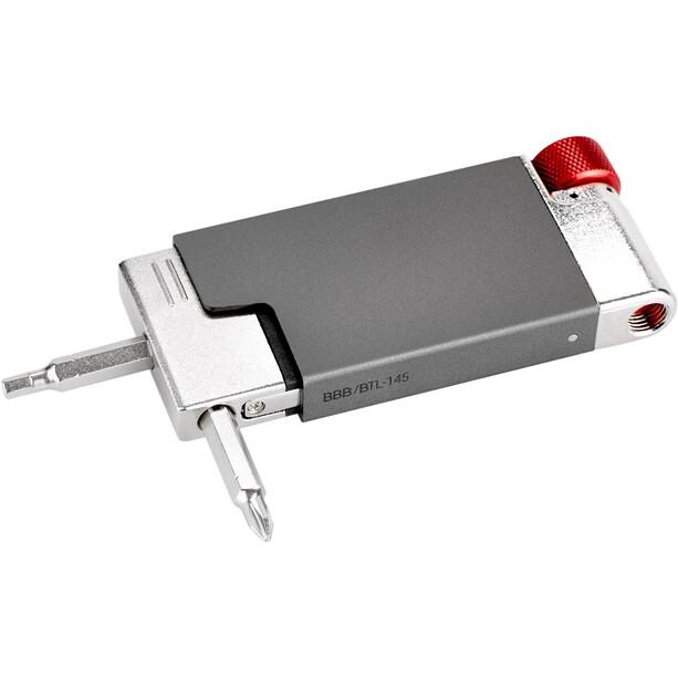 BBB MultiMatch BTL-145A Multi Tool inkl. CO2 Adapter