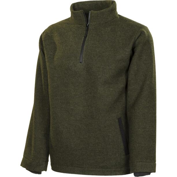 Roughstuff Troyer Pullover Herren grün-dunkelgrau