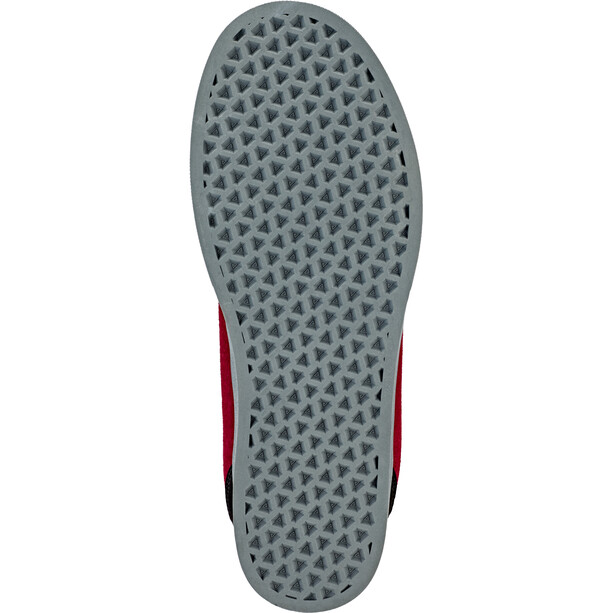 Afton Shoes Keegan Flatpedal Schuhe Herren black/maroon