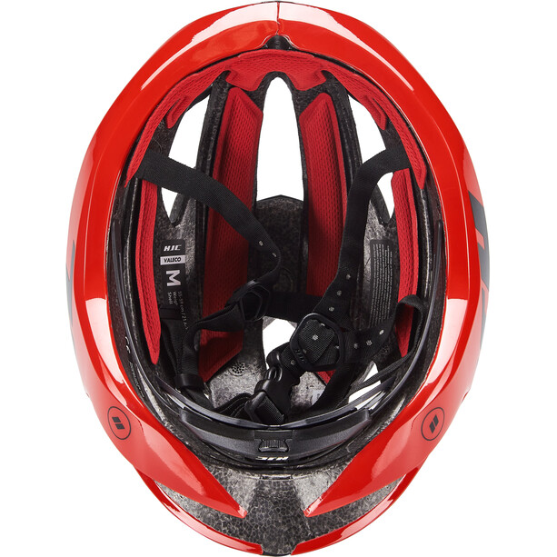 HJC Valeco Road Helm matt gloss red black