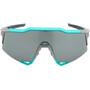 100% Speedcraft Brille Tall soft tact celeste green/grey