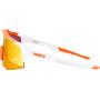 100% Speedcraft HD Multilayer/Hiper Brille Tall soft tact day glo orange/white