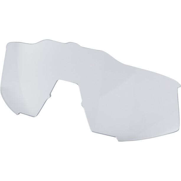 100% Speedcraft Brille Small matte white/blue