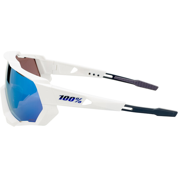 100% Speedtrap Brille matte white